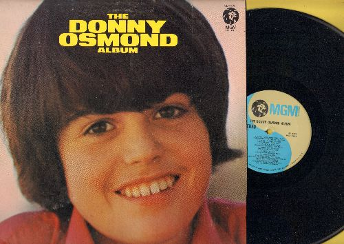 Osmond, Donny - The Donny Osmond Album: Sweet And Innocent, I'm Your Puppet, Wake Up Little Susie, So Shy (vinyl STEREO LP record) - NM9/EX8 - LP Records
