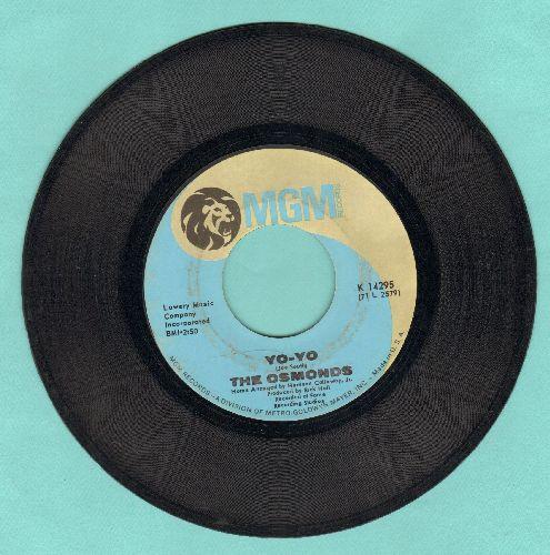 Osmonds - Yo-Yo/Keep On My Side - VG7/ - 45 rpm Records