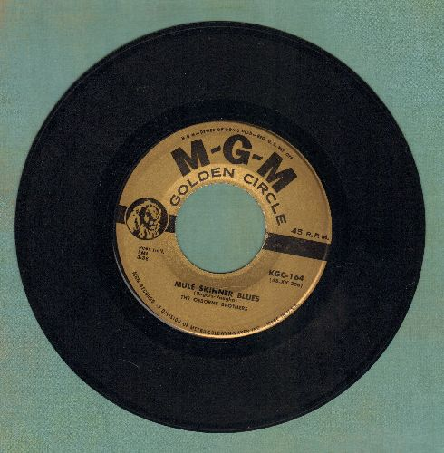 Osborne Brothers - Mule Skinner Blues/Fair And Tender Ladies (gold label) - NM9/ - 45 rpm Records
