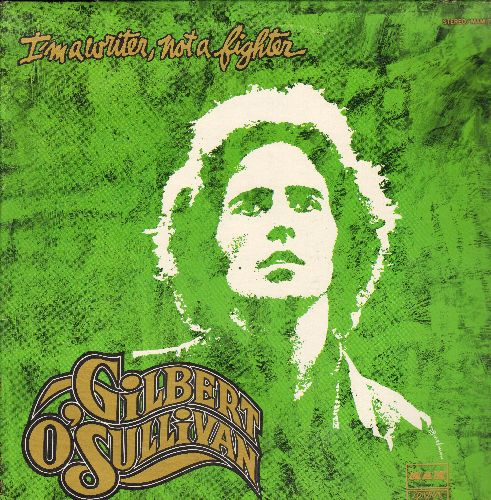 O'Sullivan, Gilbert - I'm A Writher, Not A Fighter: Get Down, Ooh Baby, Not In A Million Years, A Friend Of Mine (vinyl STEREO LP record) - NM9/NM9 - LP Records