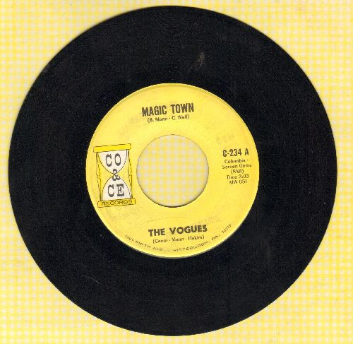 Vogues - Magic Town/Humpty Dumpty - NM9/ - 45 rpm Records