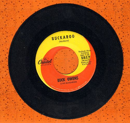 Owens, Buck - Buckaroo/If You Want A Love - EX8/ - 45 rpm Records