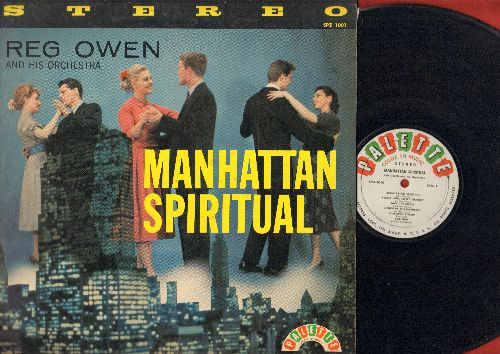 Owen, Reg & His Orchestra - Manhattan Spirutual: Jack The Ripper, Car Hop, The Swinging Brigade, Lullaby Of Birdland, Brainwave (vinyl LP record, RARE 1958 STEREO pressing) - EX8/EX8 - LP Records