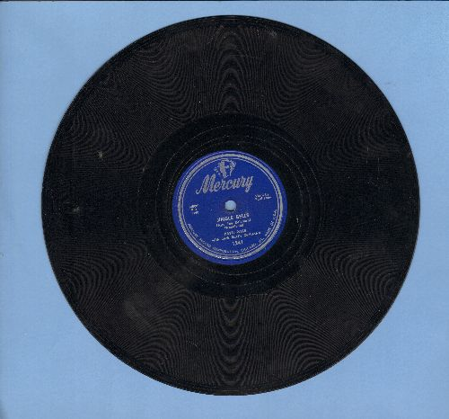 Page, Patti - Jingle Bells/Christmas Choir (10 inch 78 rpm record, NICE condition!) - NM9/ - 78 rpm