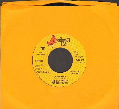 Playboys Of Edinburg - La Bamba/Happy Train (DJ advance pressing) - NM9/ - 45 rpm Records
