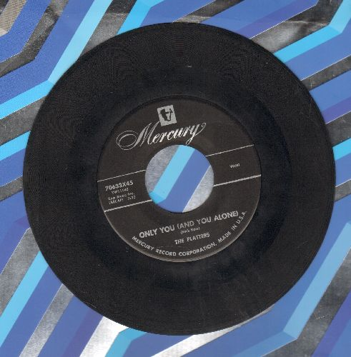 Platters - Only You (And You Alone)/Bark, Rattle And Ball  - VG7/ - 45 rpm Records