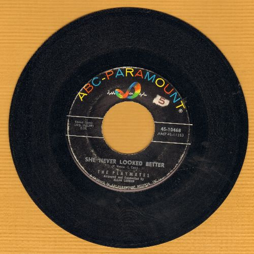 Playmates - She Never Looked Better (FANTASTIC up-tempo Love Ballad!)/But Not Through Tears  - EX8/ - 45 rpm Records