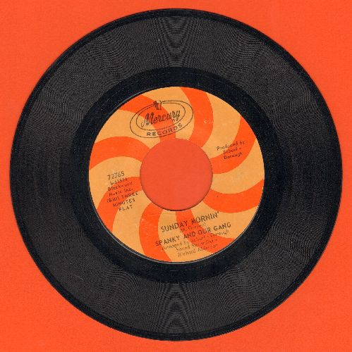 Spanky & Our Gang - Sunday Mornin'/Echoes  - NM9/ - 45 rpm Records