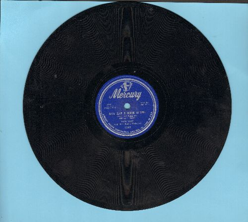 Page, Patti - Santa Claus Is Coming To Town/Silent Night (10 inch 78 rpm record) - EX8/ - 78 rpm