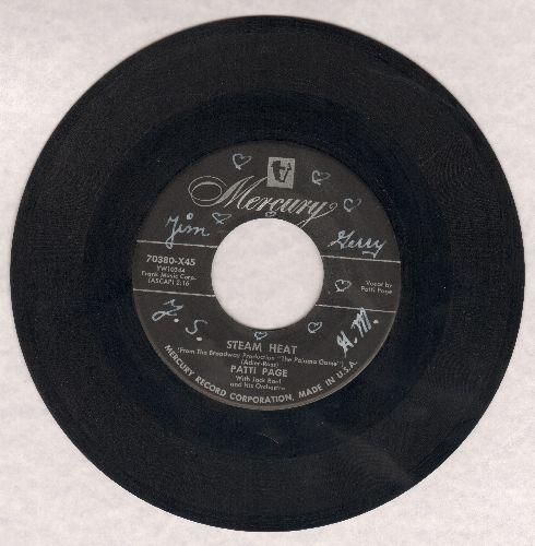Page, Patti - Steam Heat (FANTASTIC Vintage Jazz Sound!)/Lonely Days (wol) - VG6/ - 45 rpm Records
