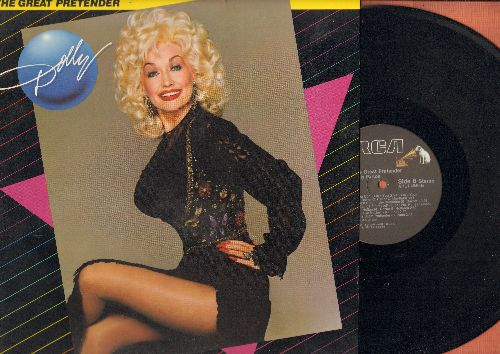 Parton, Dolly - The Great Pretender: Save The Last Dance For Me, Downtown, She Don't Love You (Like I Love You), I Can't Help Myself (Sugar Pie, Hony Bunch), Elusive Butterfly (vinyl STEREO LP record) - M10/NM9 - LP Records
