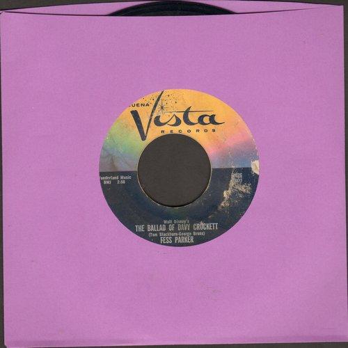 Parker, Fess - The Ballad Of Davy Crockett/Farewell  - VG7/ - 45 rpm Records