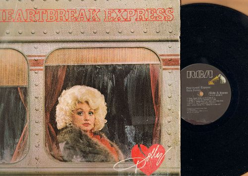 Parton, Dolly - Heartbreak Express: Release Me, Do I Ever Cross Your Mind, Single Women, Hollywood Potters (vinyl STEREO LP record, wol) - NM9/VG7 - LP Records