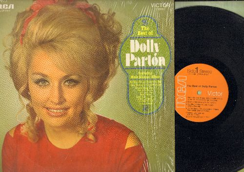 Parton, Dolly - The Best Of: Mule Skinner Blues, My Blue Ridge Mountain Boy, In The Ghetto, In The Good Old Days (When Times Were Bad) (vinyl STEREO LP record) - NM9/NM9 - LP Records