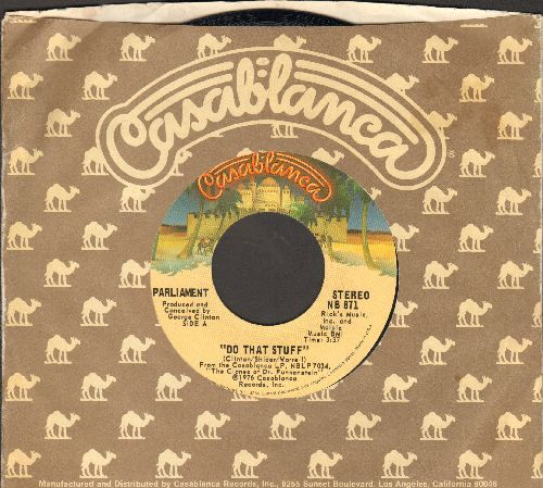 Parliament - Do That Stuff/Handcuffs (with Casablanca company sleeve) - M10/ - 45 rpm Records