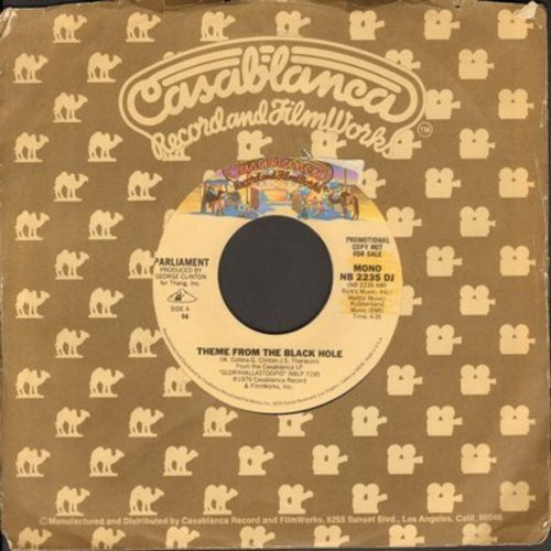 Parliament - Theme From The Black Hole/(You're A Fish And I'm A) Water Sign - NM9/ - 45 rpm Records