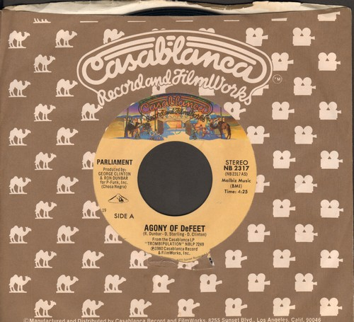 Parliament - Agony Of DeFeet/The Freeze (Sizzaleenmean) - NM9/ - 45 rpm Records