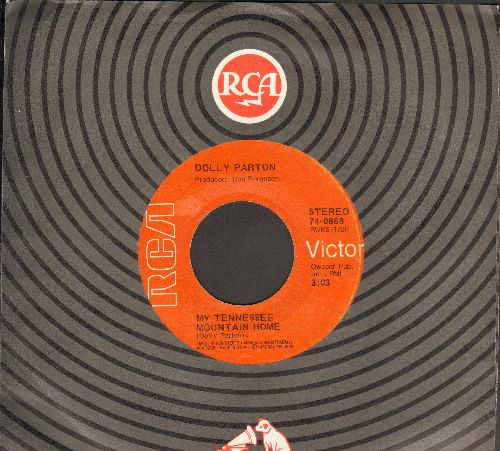 Parton, Dolly - My Tennessee Mountain Home/The Better Part Of Life - EX8/ - 45 rpm Records