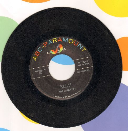 Parkays - Late Date/Get It (minor wol) - EX8/ - 45 rpm Records