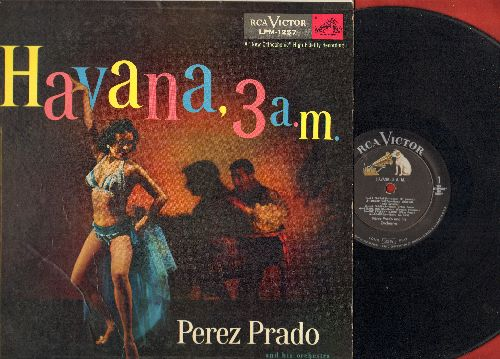 Prado, Perez - Havana, 3 a.m.: Granada, Peanut Vendor, Almedra, La Comparsa, Desconfianza (vinyl MONO LP record) - EX8/EX8 - LP Records