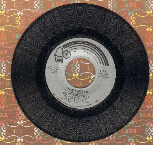 Partridge Family - I Think I Love You/Somebody Wants To Love You  - G5/ - 45 rpm Records