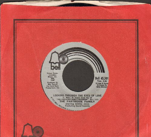 Partridge Family - Looking Through The Eyes Of Love/Storybook Love (with Bell company sleeve) - EX8/ - 45 rpm Records