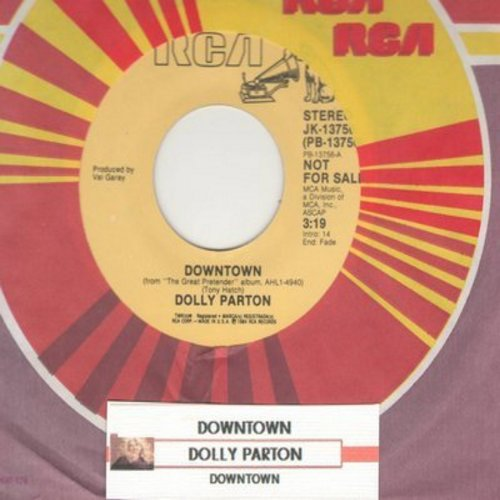 Dolly Parton - Downtown / The Great Pretender