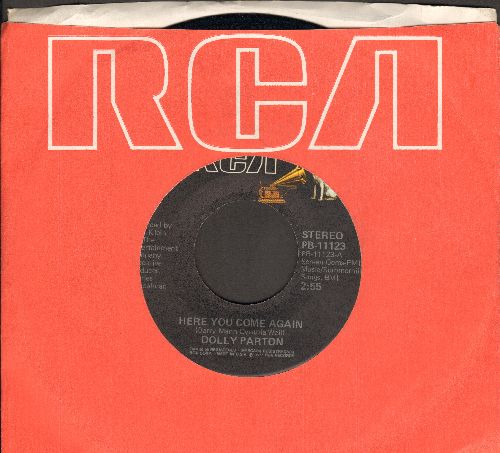 Parton, Dolly - Here You Come Again/Me And Little Andy (with RCA company sleeve) - NM9/ - 45 rpm Records