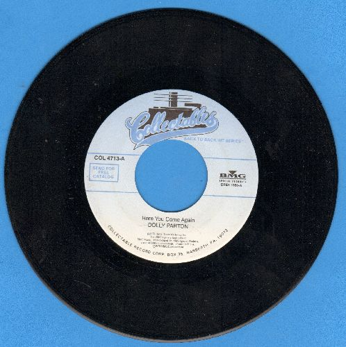 Parton, Dolly - Here You Come Again/Two Doors Down (double-hit re-issue) - NM9/ - 45 rpm Records