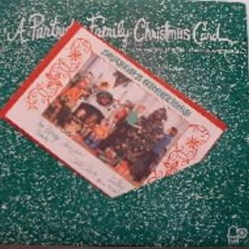 Partridge Family - A Partridge Family Christmas Card (w/Christmas card & envelope). Includes Jingle Bells, White Christmas, Winter Wonderland, The Christmas Song, Blue Christmas, Rockin' Around The Christmas Tree, Blue Christmas, Frosty The Snowman and ot