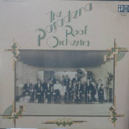 Pasadena Roof Orchestra - The Pasadena Roof Orchestra: Nagasaki, Paddlin' Madelin' Home, Charleston, Me And Jane In A Plane, Wobaly Walk (vinyl STEREO LP record, German Pressing) - M10/EX8 - LP Records