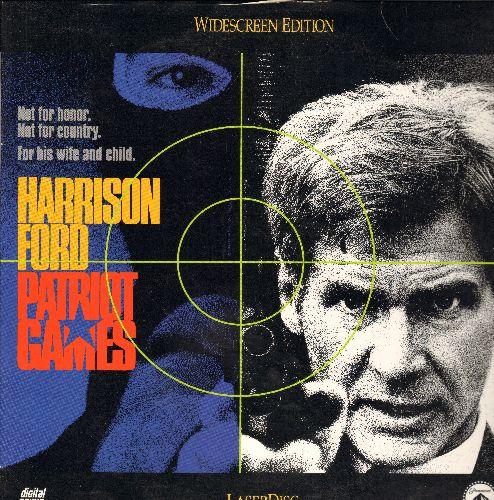 Patriot Games - Patriot Games Laser Disc starring Harrison Ford - NM9/EX8 - Laser Discs