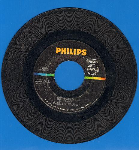 Paul & Paula - Hey Paula/Bobby Is The One  - EX8/ - 45 rpm Records