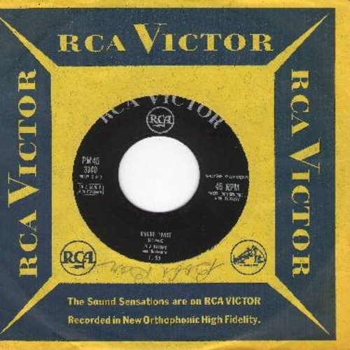 Pavone, Rita - Amore Twist/La Partita Di Pallone (Italian Pressing with RCA company sleeve) (sol) - EX8/ - 45 rpm Records