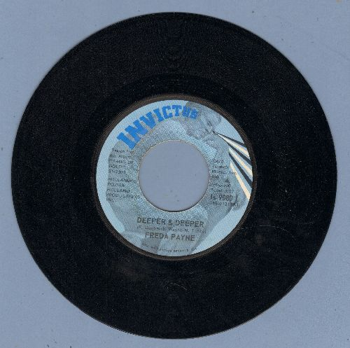Payne, Freda - Deeper & Deeper/Unhooked Generation - NM9/ - 45 rpm Records