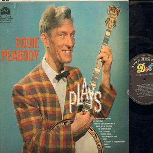 Peabody, Eddie - Eddie Peabody Plays: Alexander Ragtime Band, Smoke Gets In Your Eyes, 12th Street Rag, Tiger Rag, Third Man Theme (vinyl MONO LP record) - NM9/VG7 - LP Records