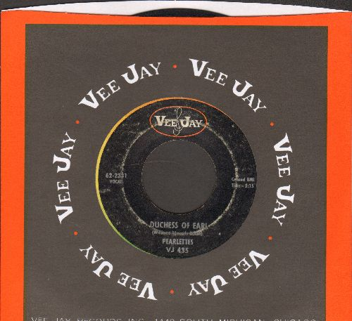 Pearlettes - Duchess Of Earl (Answer to -Duke Of Earl-)/Everyday (with Vee Jay company sleeve) - VG6/ - 45 rpm Records