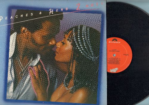 Peaches & Herb - 2 Hot: Reunited, We've Got Love, Shake Your Groove Thing, Easy As Pie, All Your Love (Give It Here) (vinyl STEREO LP record, 1978 first pressing) - M10/EX8 - LP Records