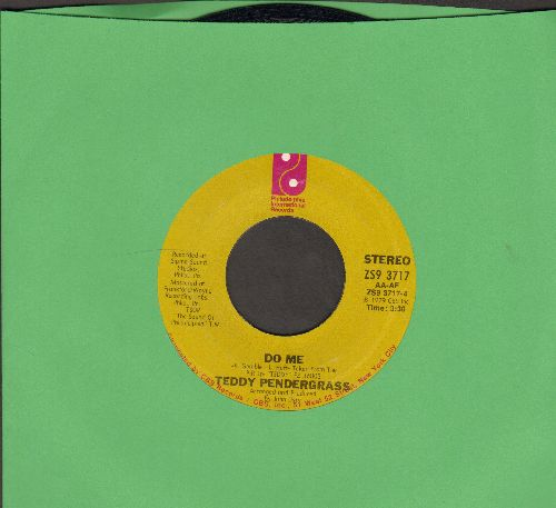 Pendergrass, Teddy - Do Me/Come Go With Me - EX8/ - 45 rpm Records