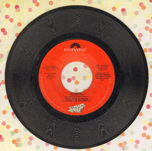 Peaches & Herb - Reunited (And It Feels So Good)/Easy As Pie  - EX8/ - 45 rpm Records