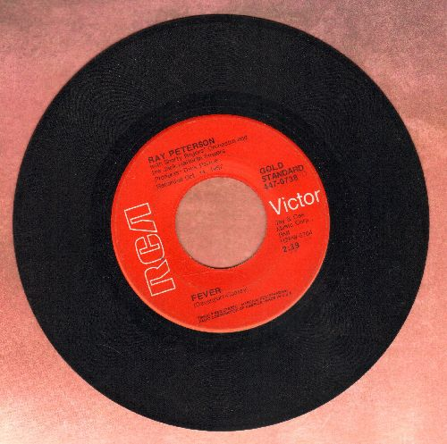 Peterson, Ray - Fever/Tell Laura I Love Her (early double-hit re-issue) - EX8/ - 45 rpm Records