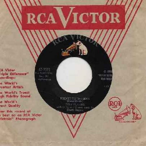 Perkins, Tony - Rocket To The Moon/When School Starts Again (with vintage RCA company sleeve) - VG7/ - 45 rpm Records