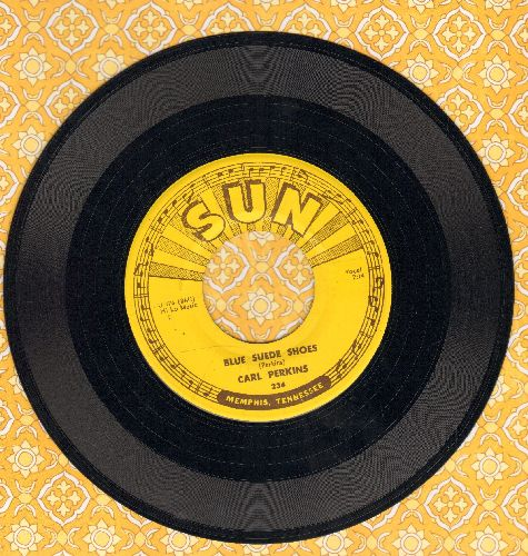 Perkins, Carl - Blue Suede Shoes/Honey Don't  - NM9/ - 45 rpm Records