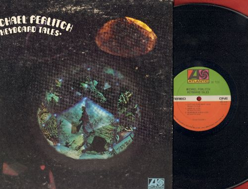 Perlitch, Michael - Keyborad Tales: Captain Zanzibar, America, Remember Sarah, Take Off, Pete The Bondage Freak, Planet Mission Alpha, Holy Joe (vinyl STEREO LP record, gate-fold cover) - NM9/EX8 - LP Records