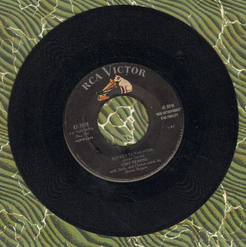 Perkins, Tony - Rocket To The Moon/When School Starts Again  - VG7/ - 45 rpm Records