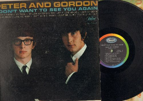 Peter & Gordon - I Don't Want To See You Again: Nobody I Know, Freight Train, Willow Garden, Two Little Love Birds 9vinyl MONO LP record) - NM9/EX8 - LP Records