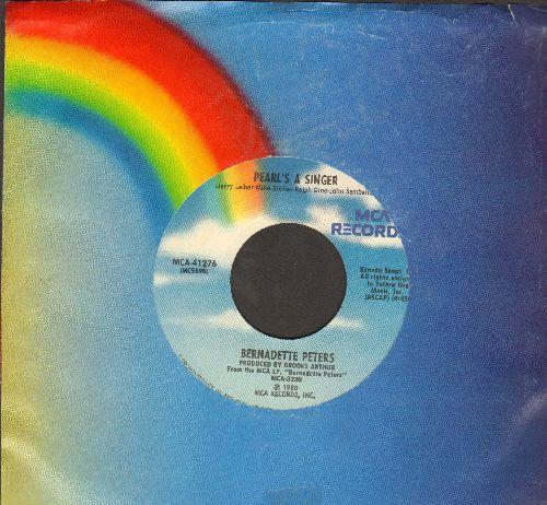 Peters, Bernadette - Pearl's A Singer/Heartquake (with MCA company sleeve) - NM9/ - 45 rpm Records