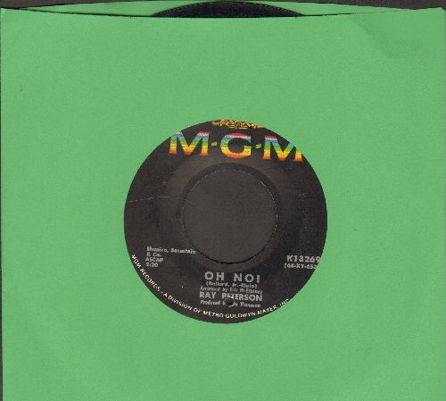 Peterson, Ray - Oh, No!/If You Were Here (bb) - VG7/ - 45 rpm Records