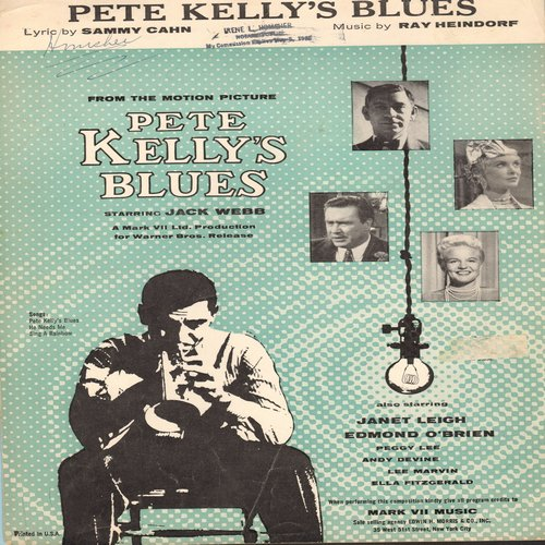 Pete kelly 39 s blues sheet music for the jazz classic for Classic jazz house