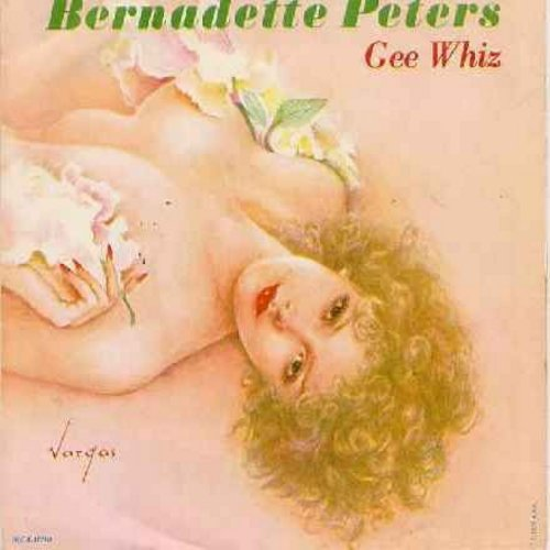 Peters, Bernadette - Gee Whiz (Look At His Eyes)/I Never Thought I'd Break (with picture sleeve) - NM9/NM9 - 45 rpm Records